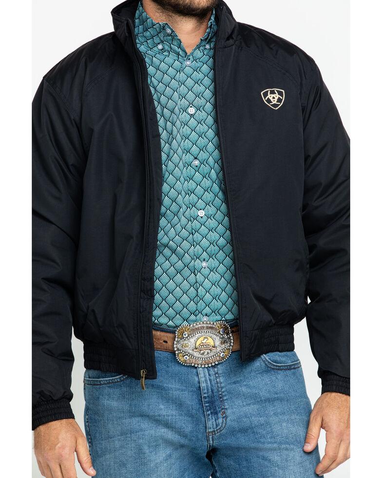 Ariat Men's Team Logo Jacket, Black, hi-res
