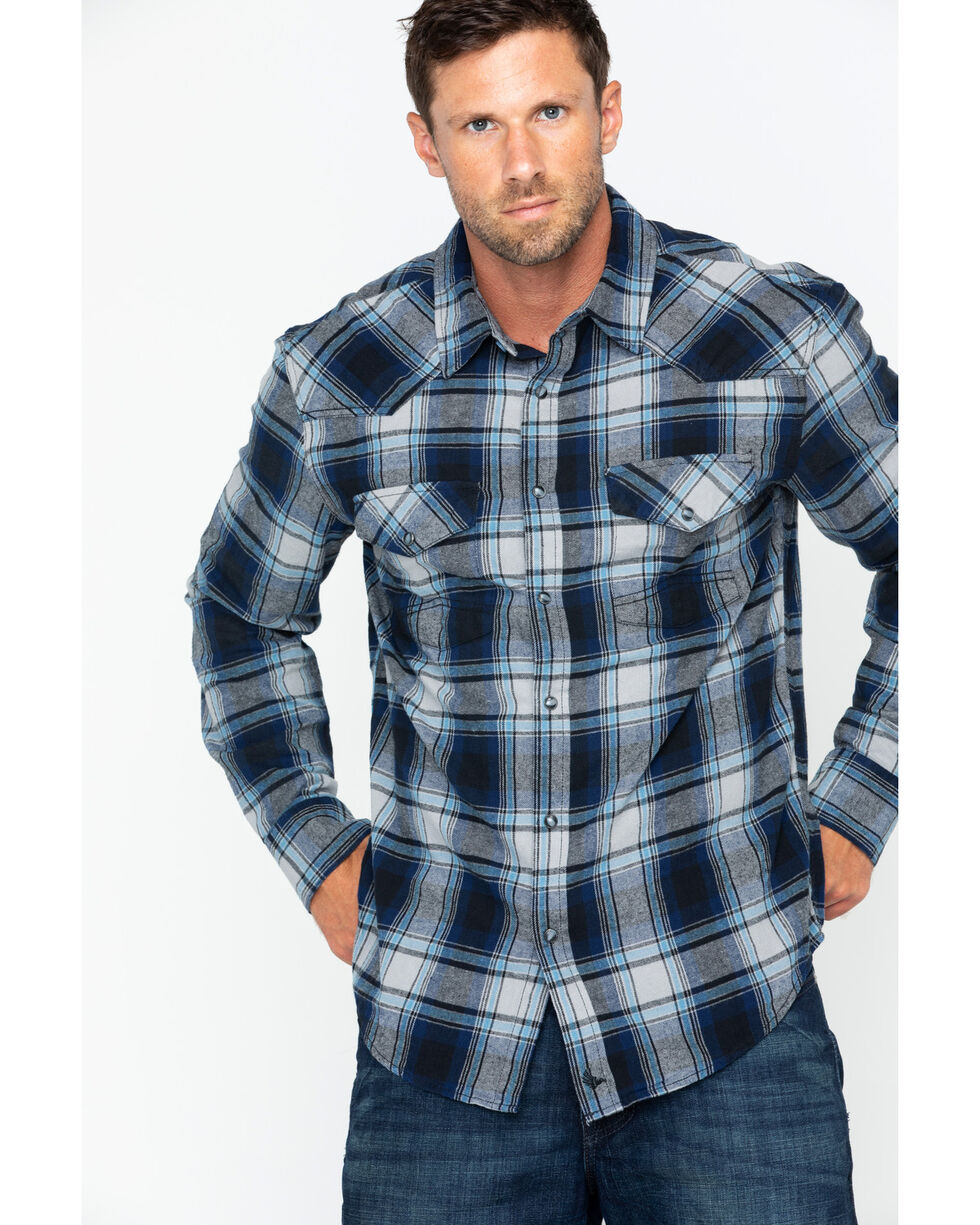 Cody James Men's Steam Liner Long Sleeve Shirt, Blue, hi-res