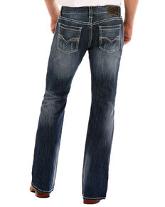 Rock & Roll Denim Men's Reflex Pistol Straight Leg Jeans , Indigo, hi-res