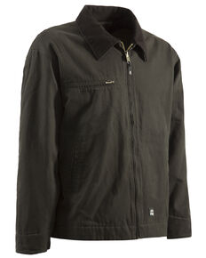 Berne Original Washed Gasoline Jacket, Olive Green, hi-res