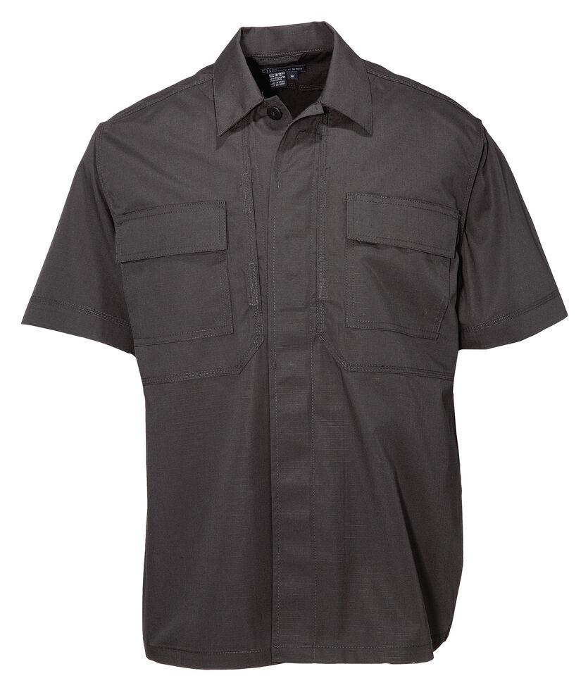 5.11 Tactical Taclite TDU Short Sleeve Shirt, Black, hi-res