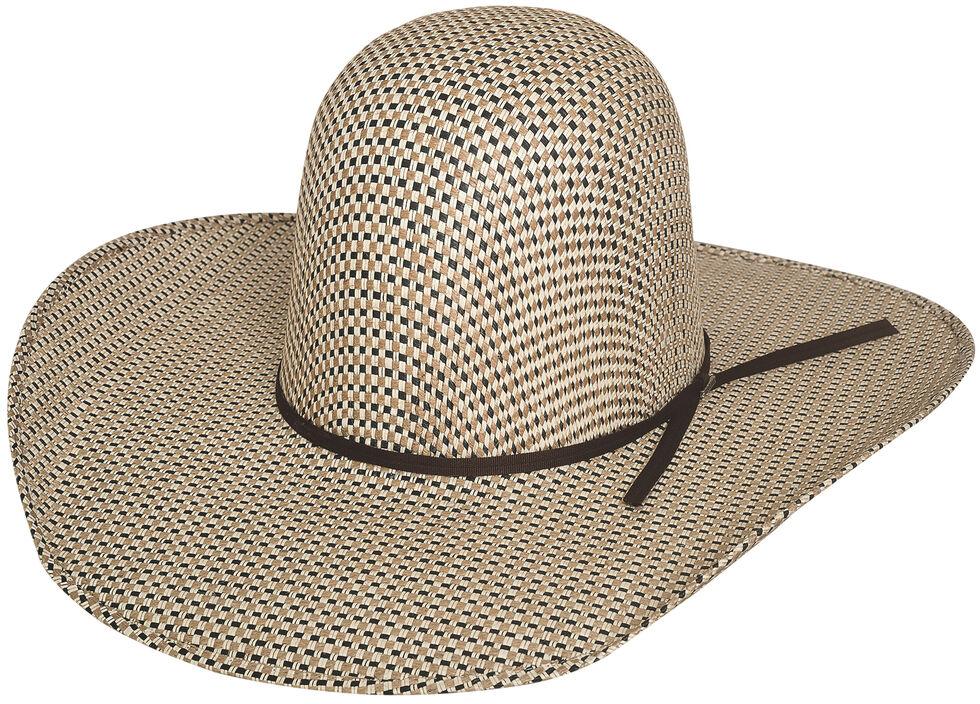Bullhide Men's Brahmer Tamer 50X Straw Cowboy Hat, Natural, hi-res