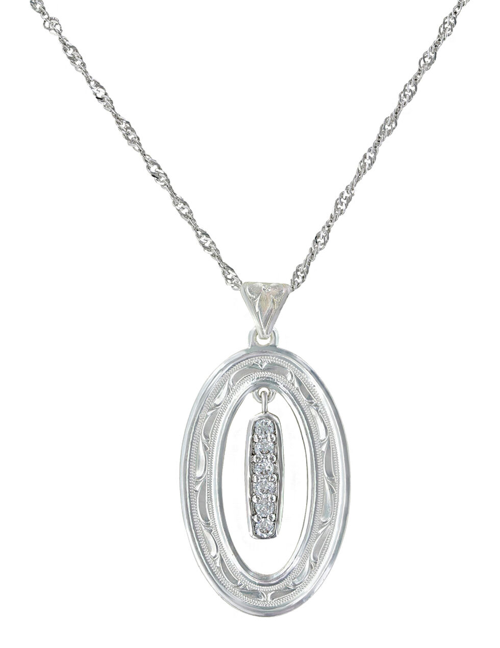 Montana Silversmiths Women's Prairie Aster Necklace , Silver, hi-res