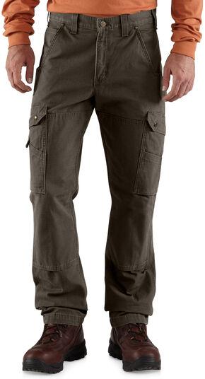 Carhartt Ripstop Cargo Work Pants, Coffee, hi-res