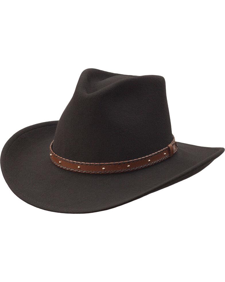 Black Creek Men s Black Crushable Wool Hat  2f8f1943a1ae