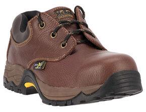 McRae Men's Poron XRD Met Guard Boots - Steel Toe, Brown, hi-res