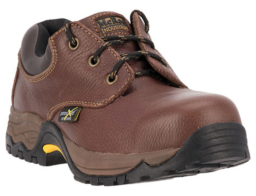McRae Men's Poron XRD Met Guard Boots - Steel Toe, Brown, hi-res