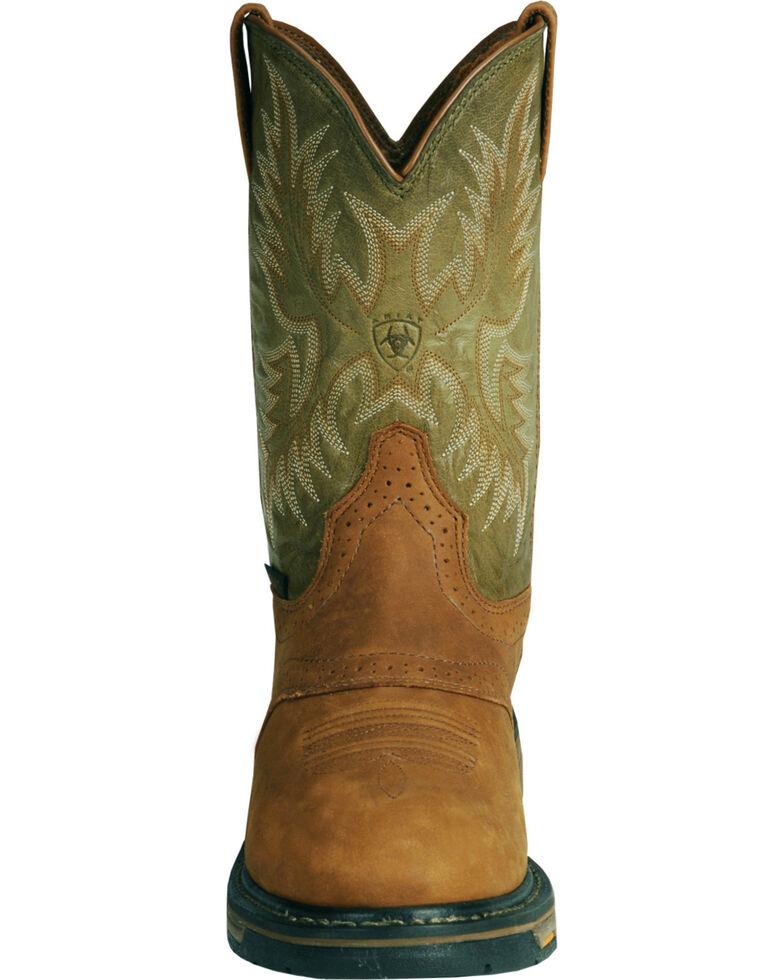 Ariat Workhog Western Work Boots - Composite Toe, Bark, hi-res
