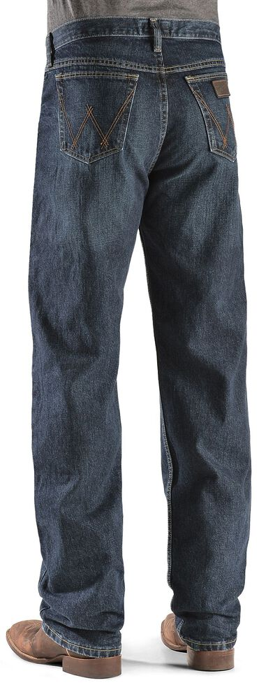 Wrangler 20X Deep Blue Jeans - Competition Relaxed Fit, Dark Blue, hi-res