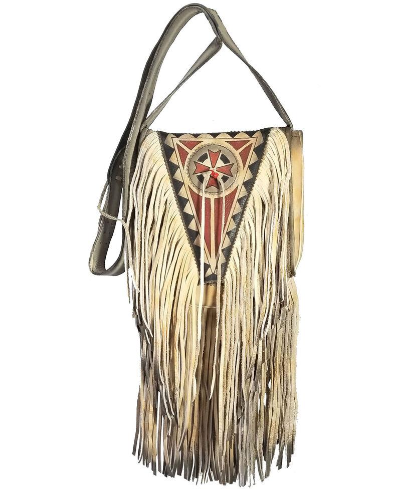 Kobler Leather Women's Ivory Painted Crossbody Bag, Ivory, hi-res