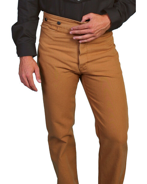 Wahmaker by Scully Canvas Pants - Tall, Brown, hi-res