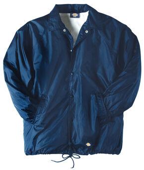 Dickies Snap Front Nylon Jacket - Big & Tall, Navy, hi-res