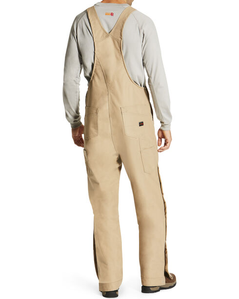 Ariat Men's Beige FR Insulated Bib Overalls , Beige/khaki, hi-res