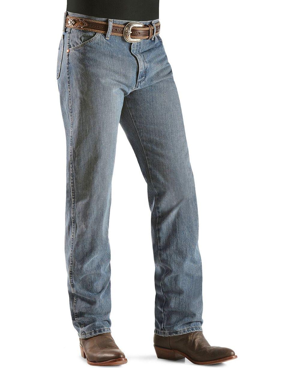 Wrangler 13MWZ Jeans Cowboy Cut Original Fit Prewashed Jeans , Rough Stone, hi-res