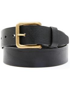 Hawx Men's Black Casual Leather Belt , Black, hi-res