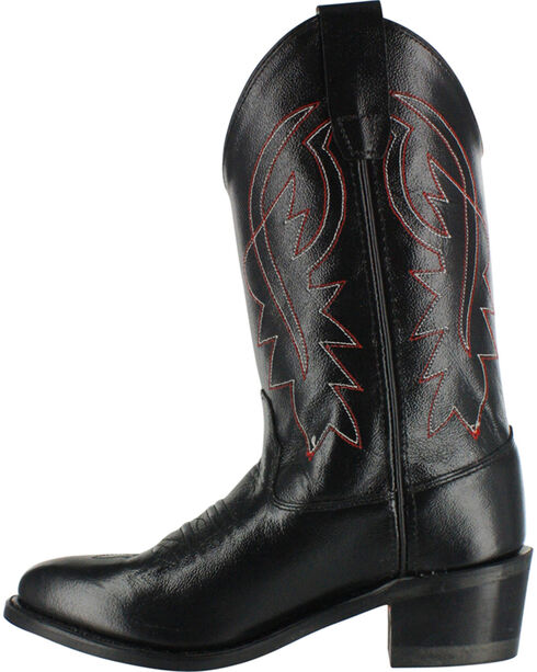Cody James Youth Boys' Black Distressed Western Boots - Pointed Toe , Black, hi-res