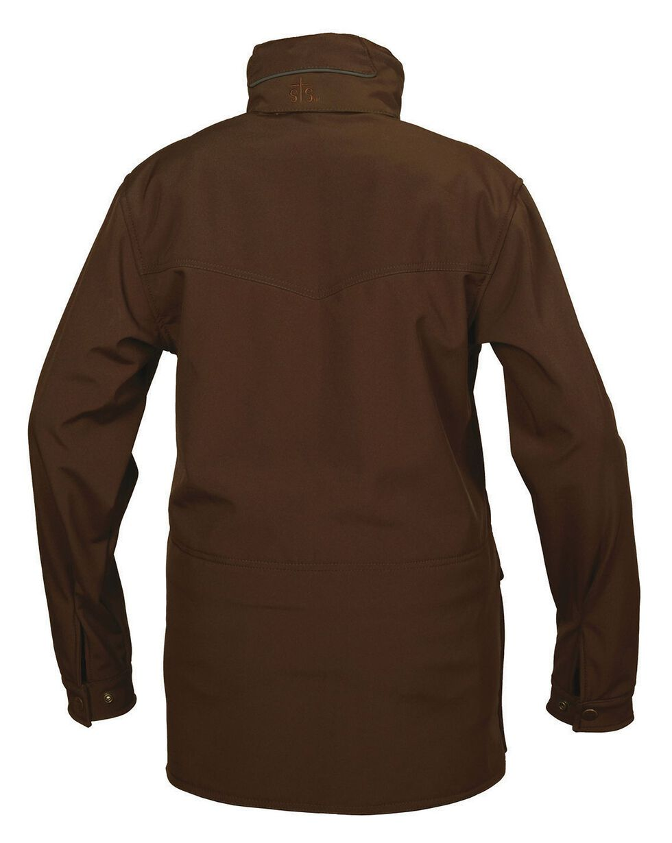 STS Ranchwear Brazos Softshell Jacket - Plus, Brown, hi-res