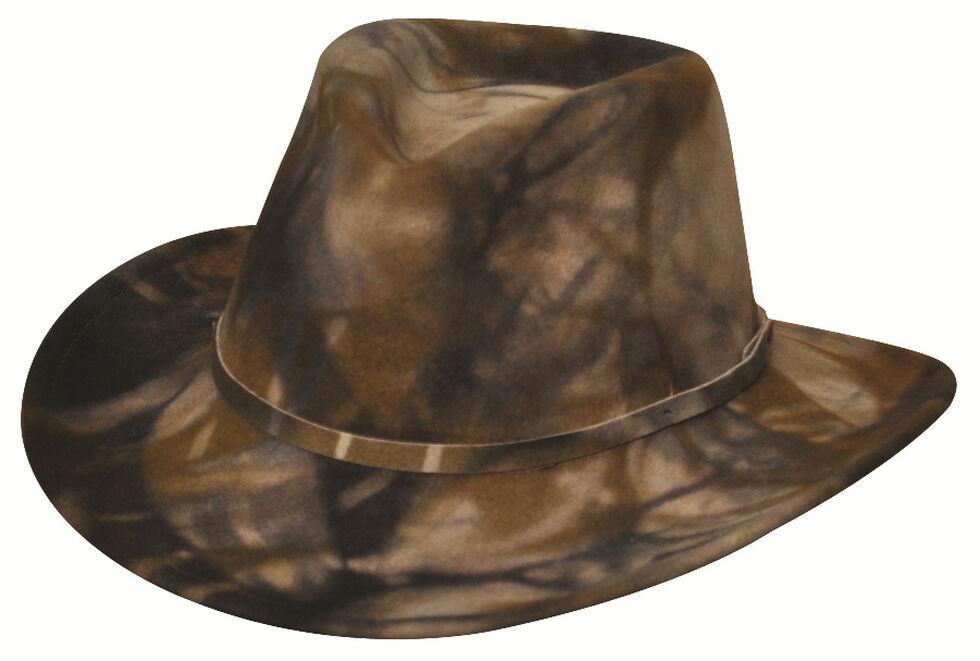 Black Creek Men's Camo Crushable Wool Earflap Hat, Camouflage, hi-res