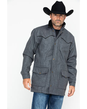 Schaefer Outfitter Men's 220 Wool Big Country Rancher Coat, Charcoal, hi-res