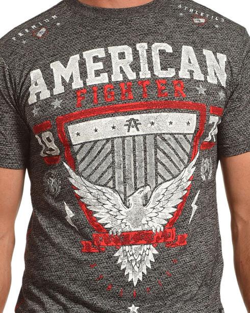 American Fighter Men's Grey Clearmont Artisan Tee , Black, hi-res