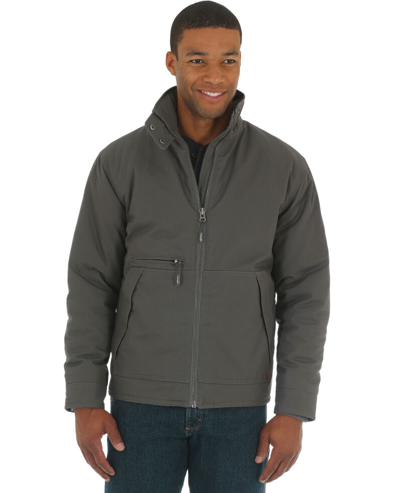 Wrangler Men s Charcoal Grey RIGGS WORKWEAR® Contractor Jacket - Big and  Tall 9e78d0aea