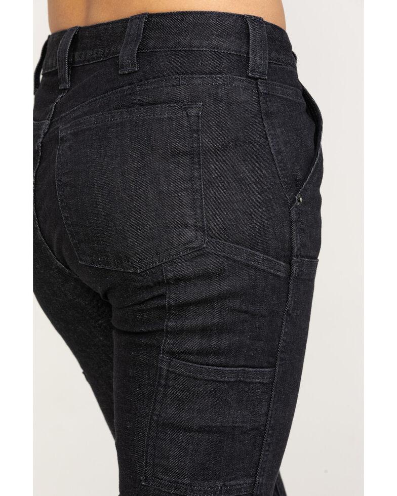 Dovetail Women's Maven Slim Denim Stretch Jeans , Black, hi-res