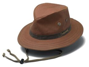Outback Trading Co. Oilskin Willis Hat, Tan, hi-res