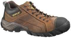 Caterpillar Argon Lace-Up Work Shoes - Round Toe, Dark Brown, hi-res