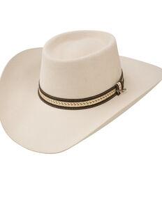 Stetson Jameson Silver Belly 6x Felt Cowboy Hat, Silver Belly, hi-res