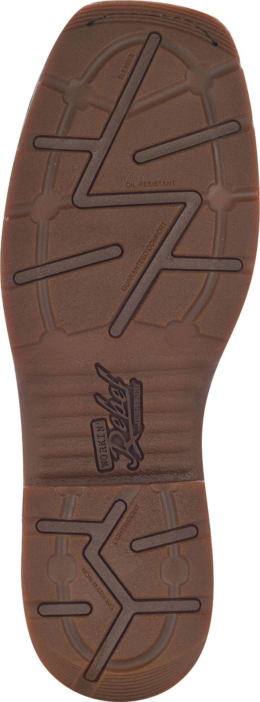 Durango Men's Workin' Rebel Brown Western Boots - Composite Toe, Chocolate, hi-res