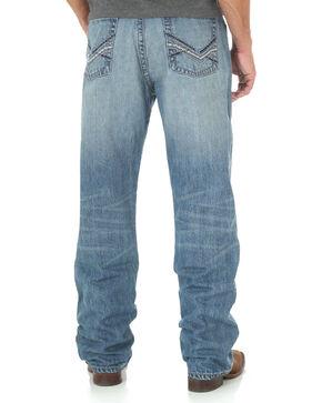 Wrangler Men's Blue 20X No. 33 Relaxed Straight Jeans - Long, Blue, hi-res