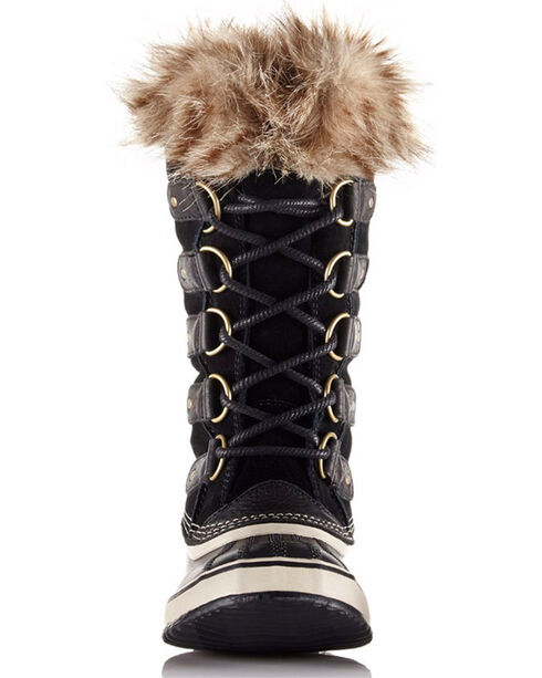Sorel Women's Black Joan Of Arctic Waterproof Boots - Round Toe , Black, hi-res
