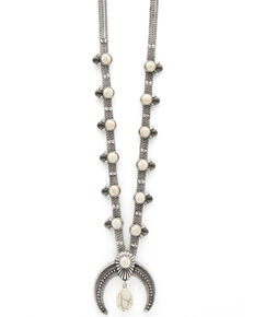 Cowgirl Confetti Women's Lovelier Than Ever Necklace, Silver, hi-res