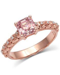 Montana Silversmiths Women's Rose's Wild Rose Ring, Rust Copper, hi-res