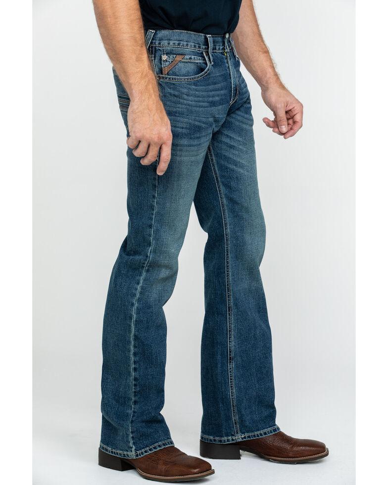 Ariat Men's M7 Texarcana Stretch Regular Bootcut Jeans , Blue, hi-res