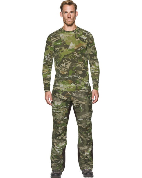 Under Armour Men's Camo Stealth Fleece Pants - Straight Leg , Camouflage, hi-res
