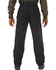 5.11 Tactical Pants - Cotton - Unhemmed - Big Sizes (46-54), Black, hi-res