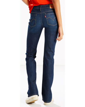 Levi's Women's 715 Land And Sea Bootcut Jean, Indigo, hi-res