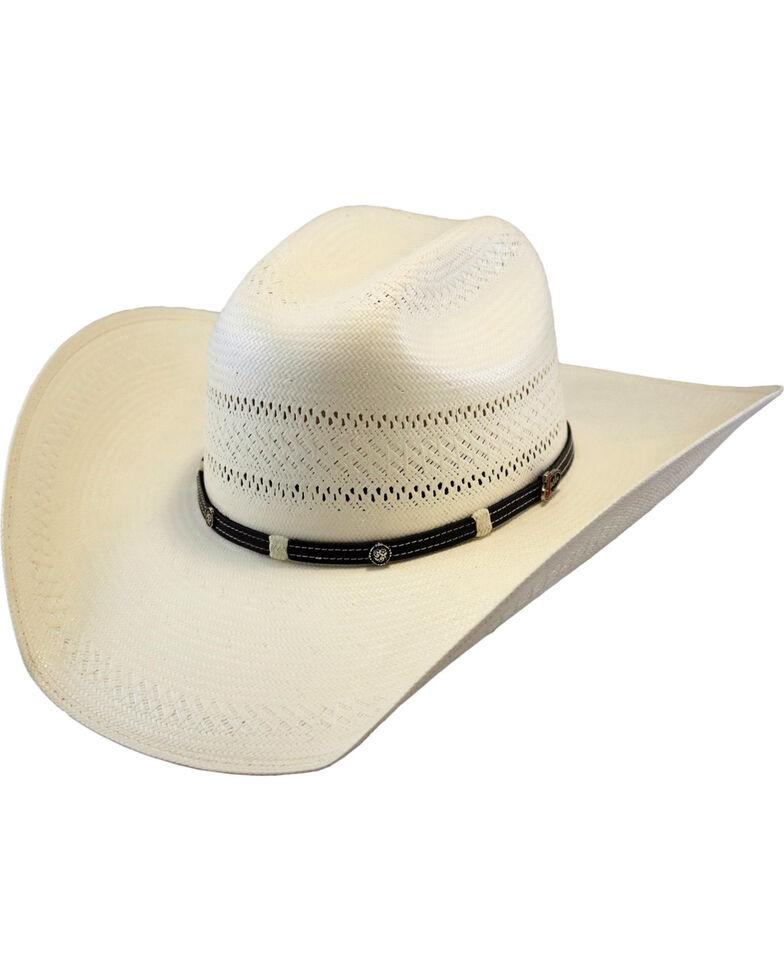 Justin Men's Ivory 50X Renner Straw Cowboy Hat , Ivory, hi-res