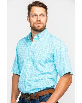 Ariat Men's Fenix Stretch Print Short Sleeve Western Shirt , Multi, hi-res
