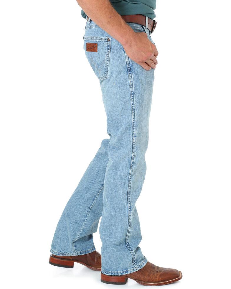 "Wrangler Jeans - Premium Patch Slim 77 - 38"" Tall Inseam, Blue Frost, hi-res"