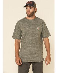 Carhartt Men's Army Green Pocket Short Sleeve Work T-Shirt , Green, hi-res