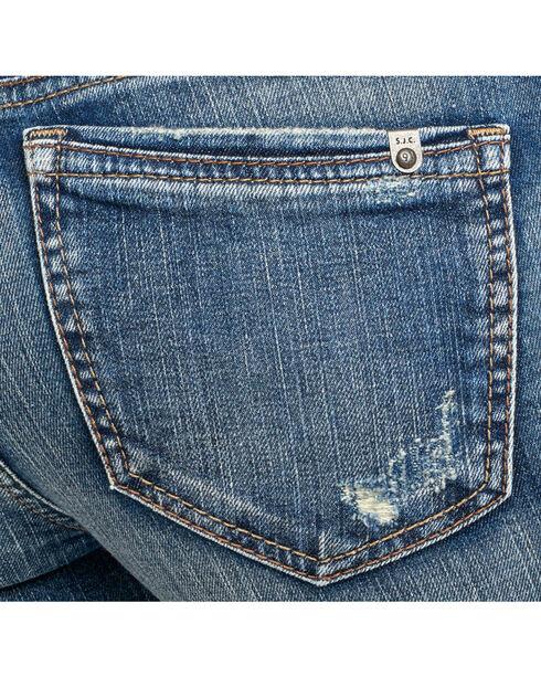 Silver Women's Indigo Aiko Jeans - Ankle Skinny , Indigo, hi-res