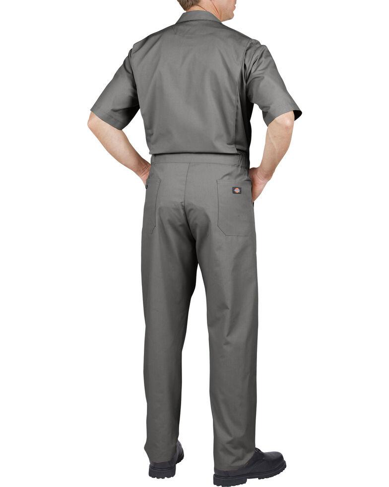 Dickies Short Sleeve Work Coveralls, Grey, hi-res