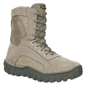 Rocky Men's S2V Soft Toe Vented Military Boots, Sage, hi-res