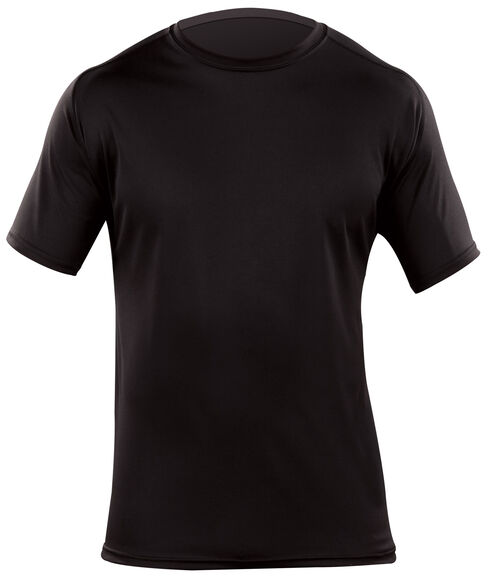 5.11 Tactical Men's Loose Short Sleeve Crew Shirt, Black, hi-res