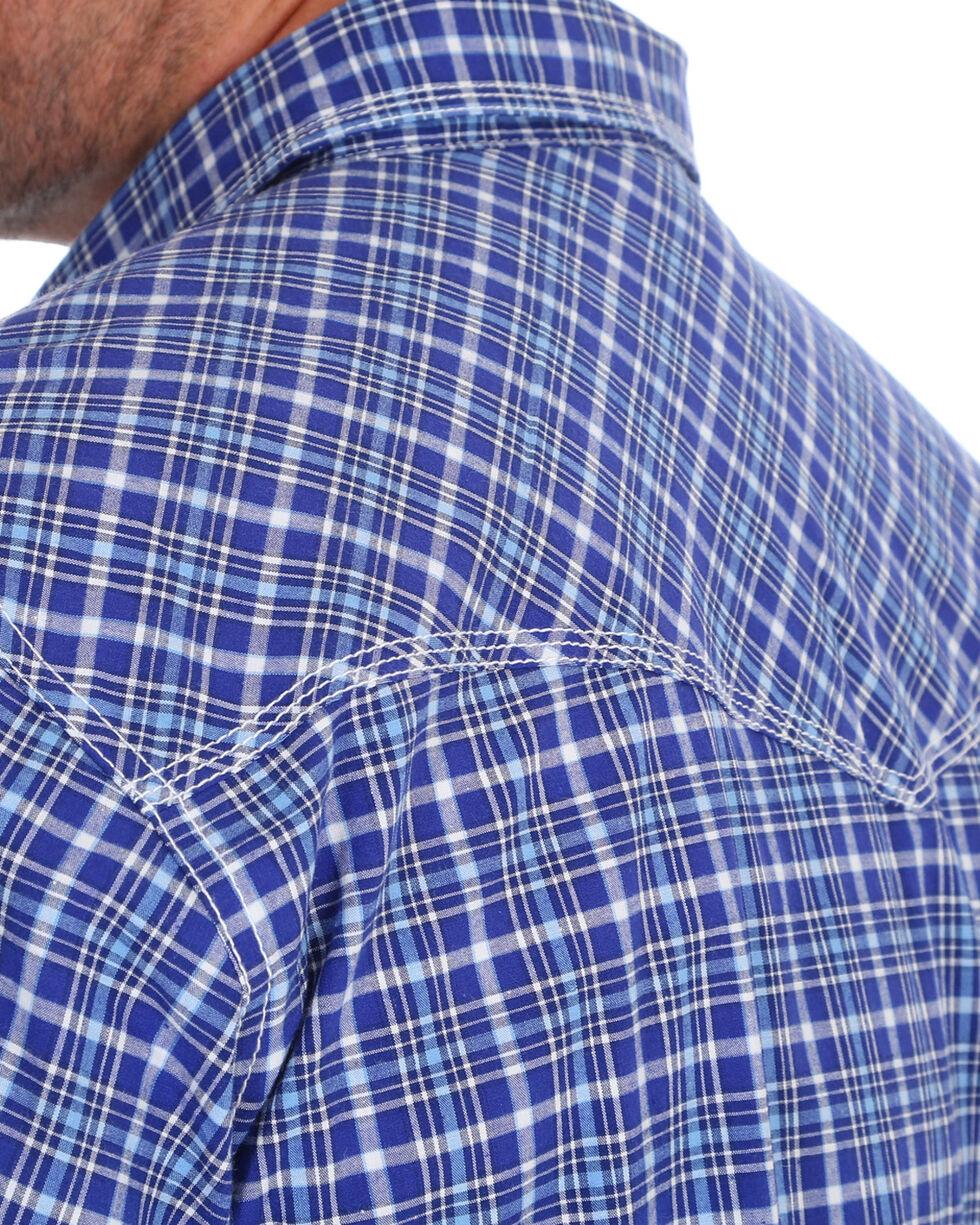 Wrangler Men's Navy 20X Competition Advanced Comfort Shirt - Tall, Navy, hi-res
