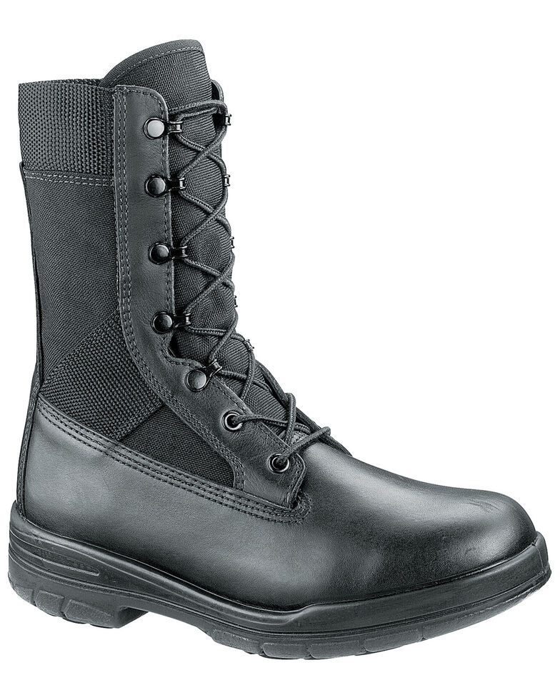 Bates Men's Tropical Seals Work Boots - Soft Toe, Black, hi-res