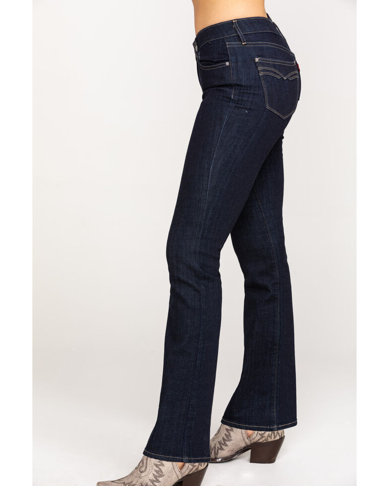 Levi's Women's Moving On Western Bootcut Jeans, Blue, hi-res