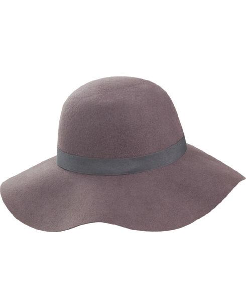 Peter Grimm Women's Crush Floppy Hat, Grey, hi-res